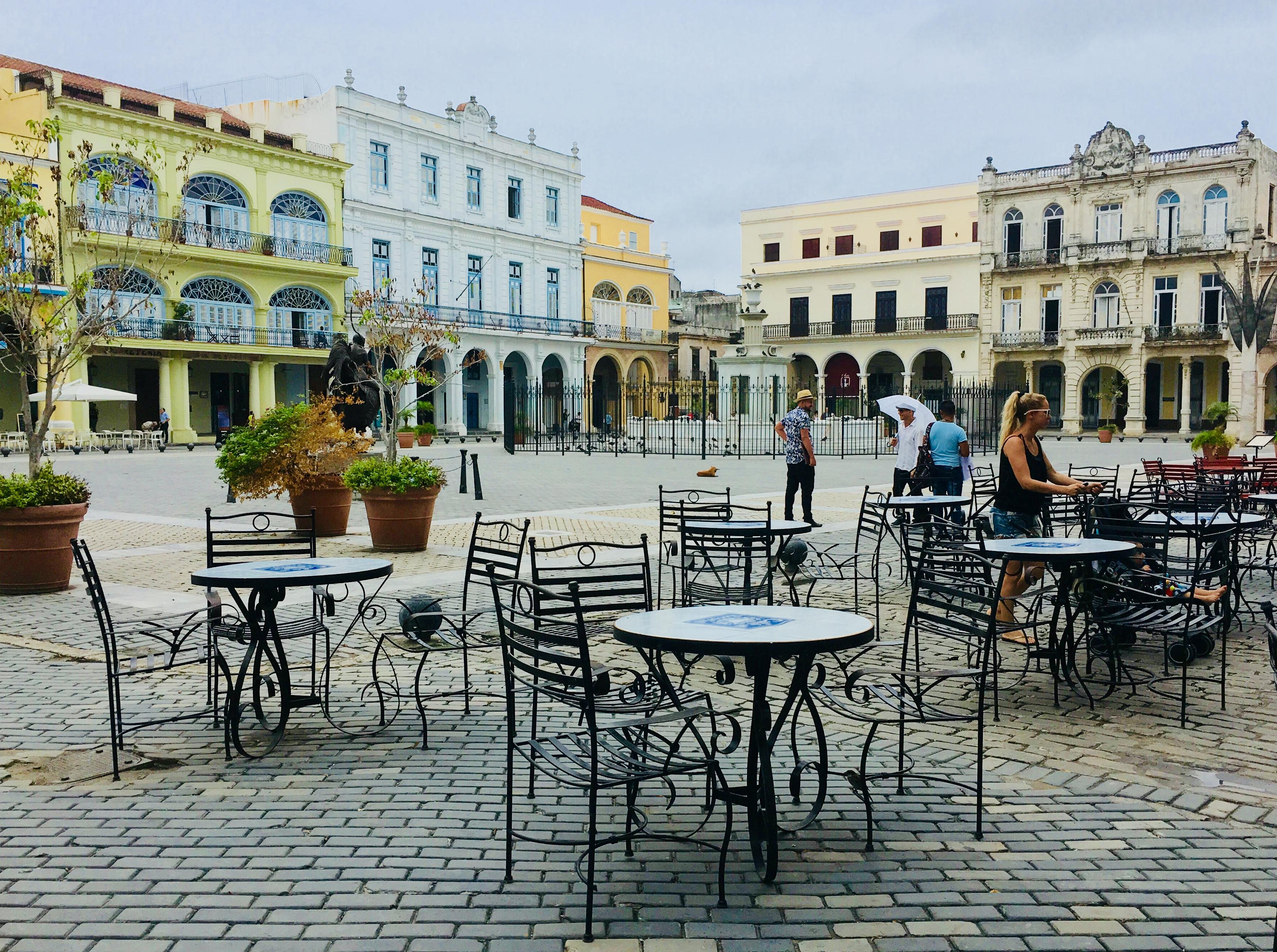 Old Merchants square, Havana Cuba
