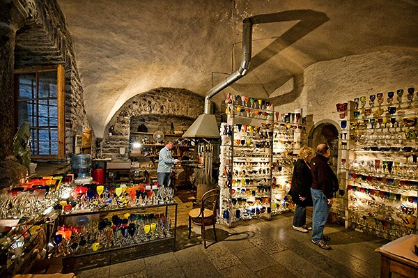 Glass Blowing and shop in Tallinn