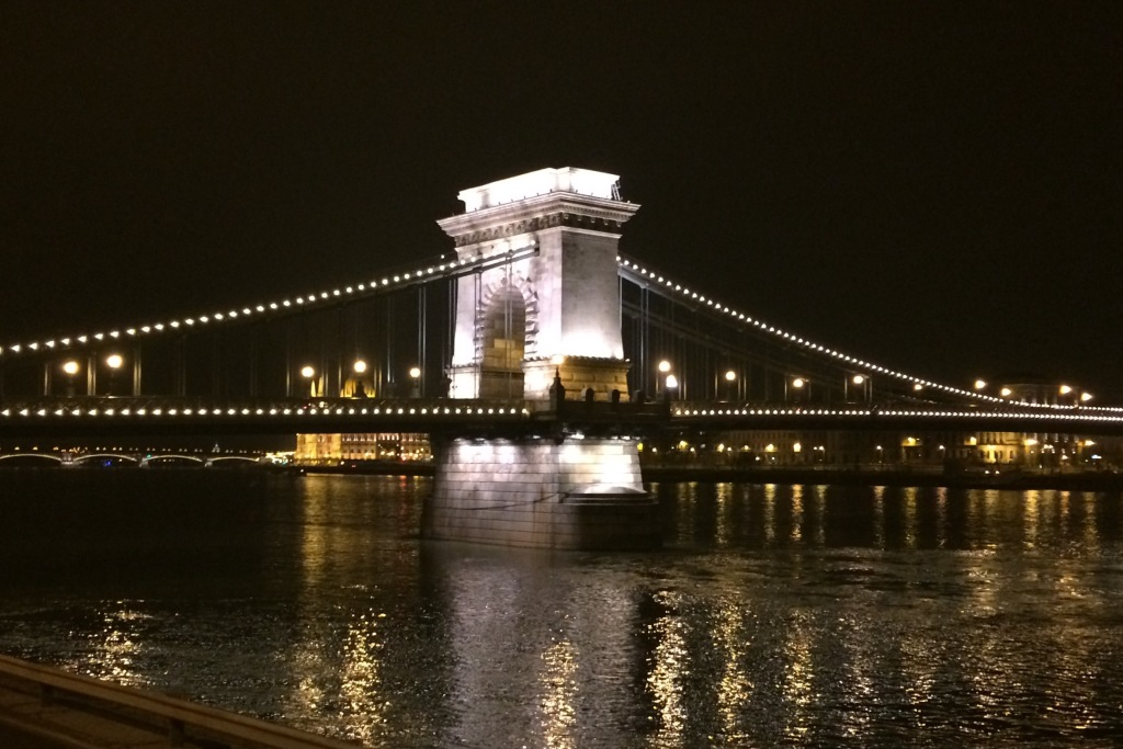 The Danube at Budapest